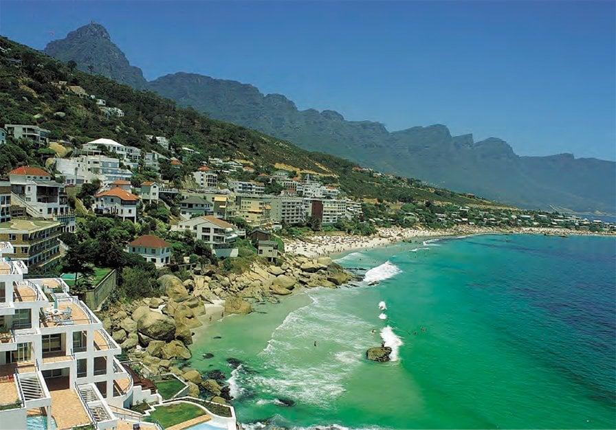 Sør-Afrika kysten