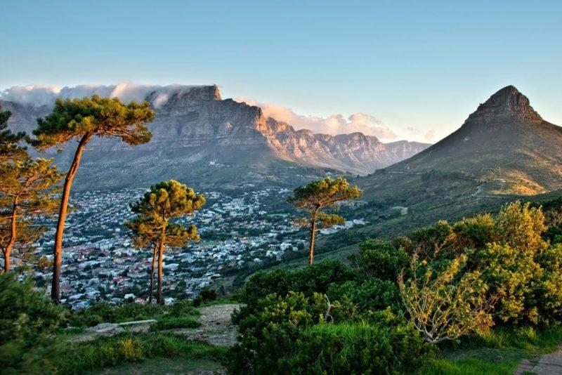 Fjellene i Sør-Afrika