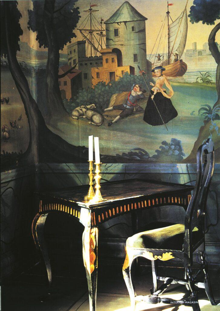 Tuddal Høyfjellshotell - skrivebord med stol stemningsbilde