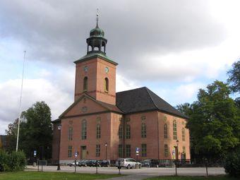 Kongsberg Kirke september 2013